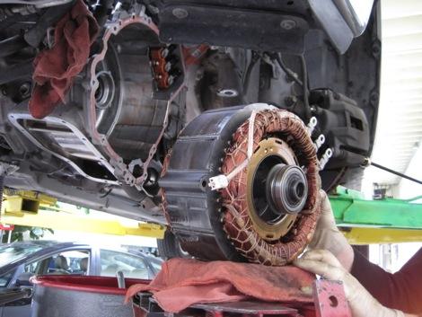 Gen 1 Prius Transmission Repair P3009 P3120 P3125